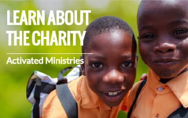 Learn about the charity | Activated Ministries