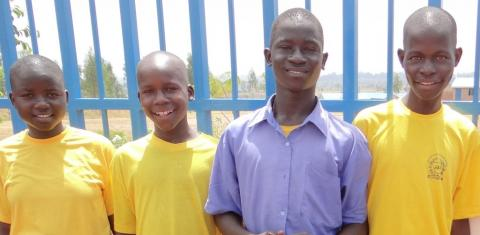 car donations - uganda school